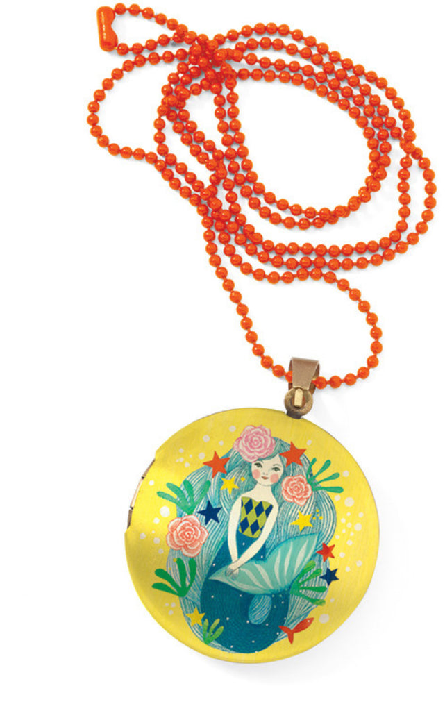 Lovely Surprise Mermaid Locket Necklace