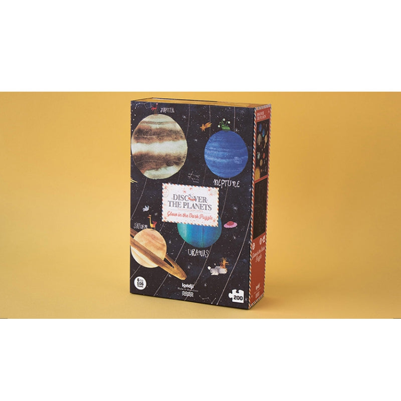 LONDJI DISCOVER THE PLANETS GLOW IN THE DARK PUZZLE