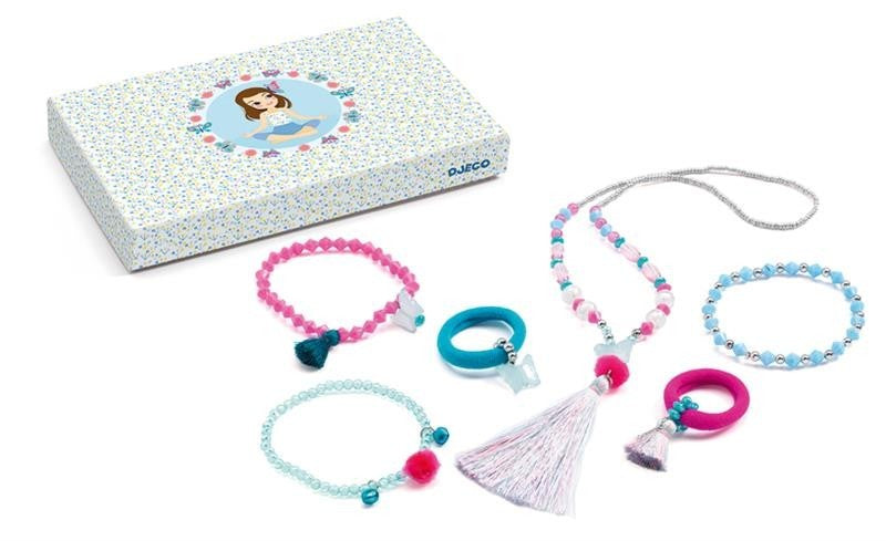 Djeco Jewels - Pompoms and Butterflies