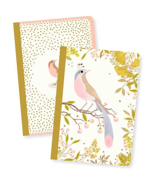 Djeco Lovely Paper :2 Small Notebooks - Tinou
