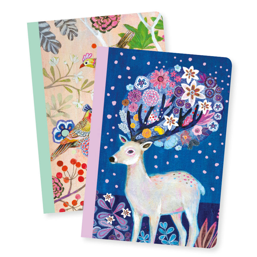 Djeco Lovely Paper :2 Small Notebooks - Martyna