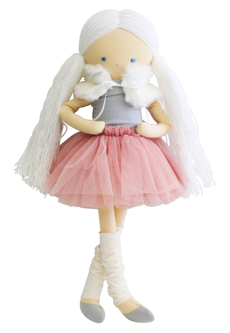 Alimrose Tillie Dress Me Ballerina Doll Blush