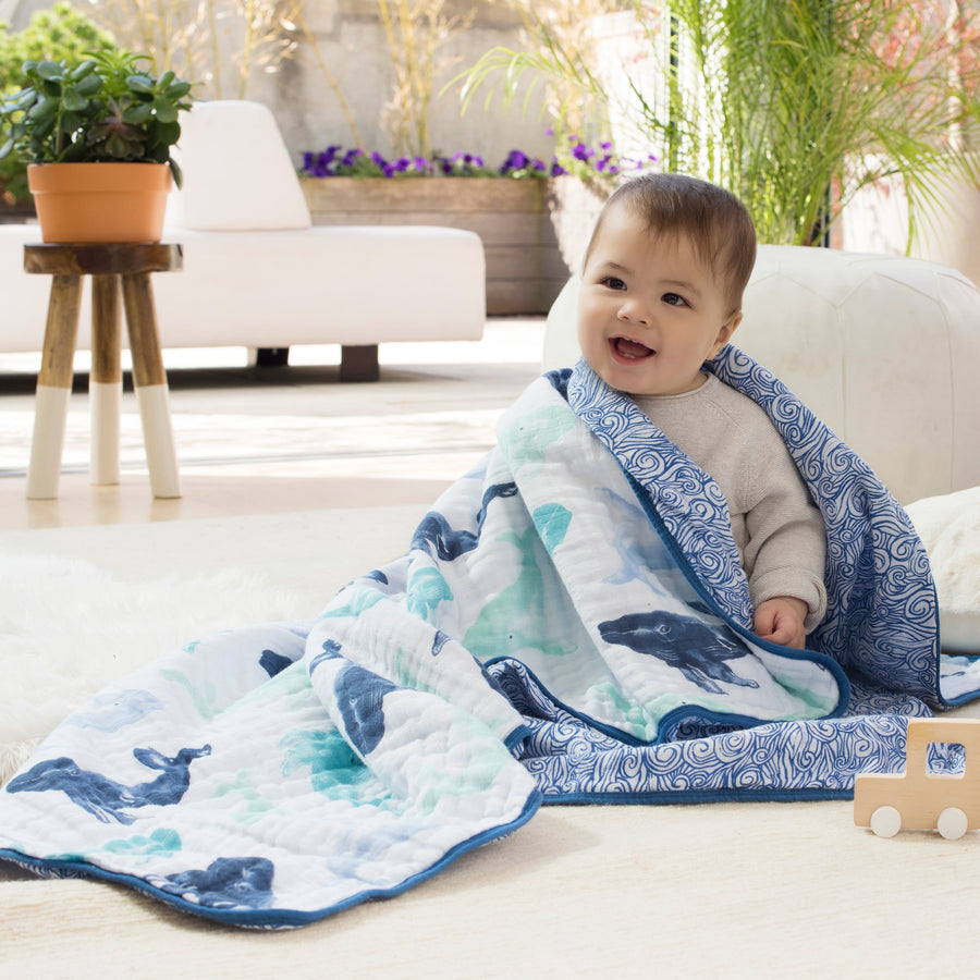 Aden and Anais Seafarer Dream Blanket