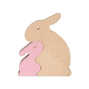 BUNNY PUZZLE PINK