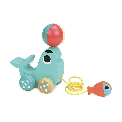 Vilac SEA LION PULL TOY 'BIBI' - INGELA P ARRHENIUS