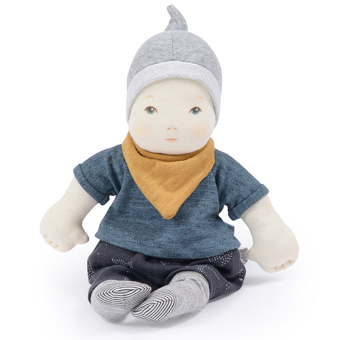 Baby Boy Rag Doll - Moulin Roty