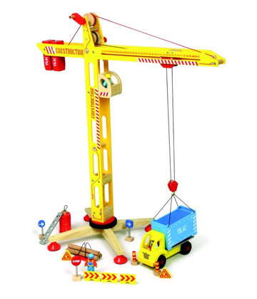 Vilac Large Crane and Accessories set
