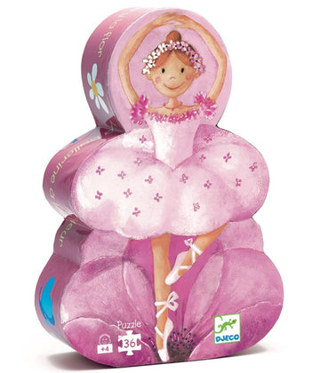 Djeco Ballerina with the Flower Jigsaw Puzzle