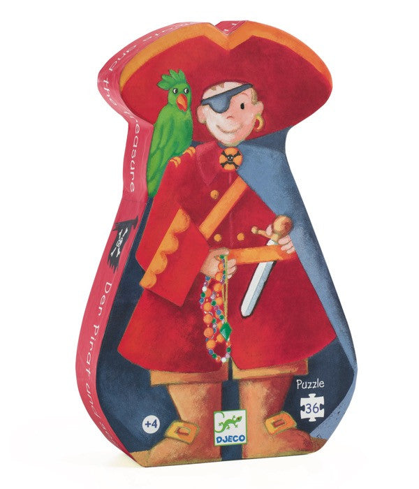 Djeco Pirate and his Treasure Jigsaw Puzzle