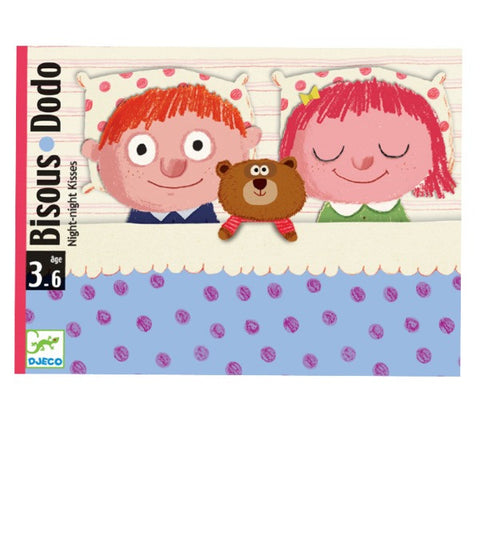 Djeco Goodnight Kisses Card Game