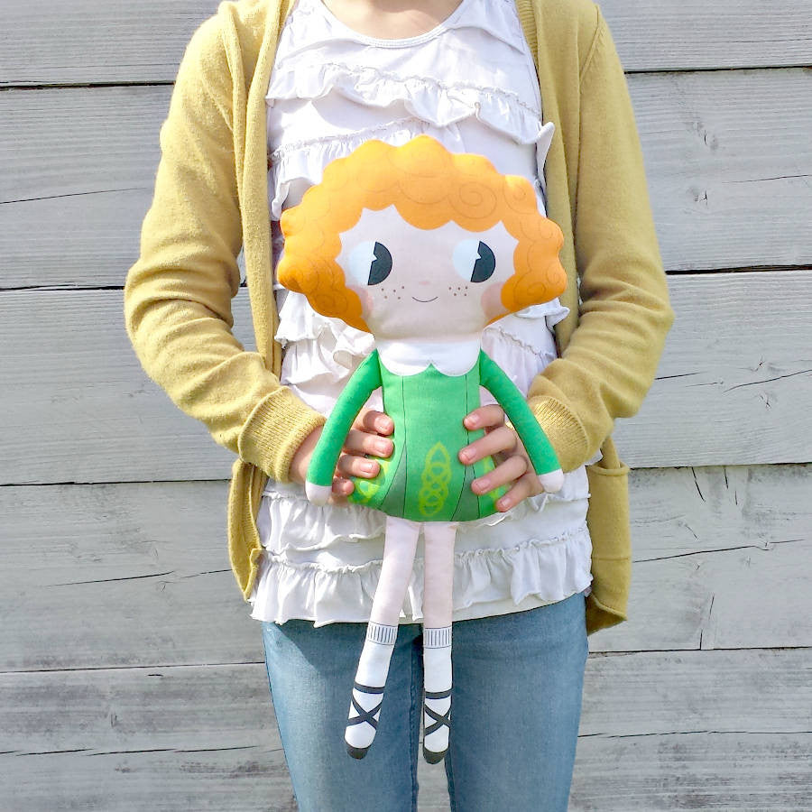 "Pippablue Sewing Kit ""Emer"" Doll"