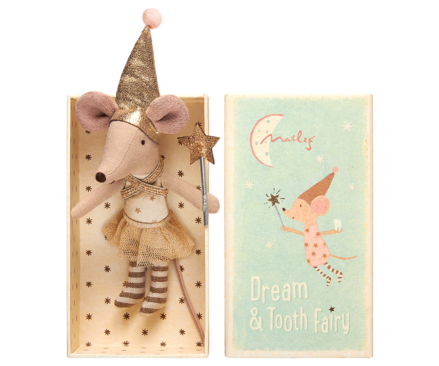 Maileg Girl Tooth Fairy in box