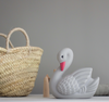 Swan Mini Night Light - Grey Kiss
