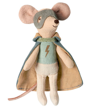 Maileg Mouse - Guardian Hero in Suitcase