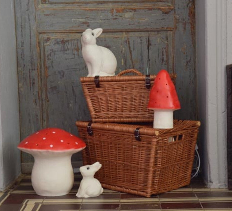 Egmont Mushroom Lamp Small (Red)