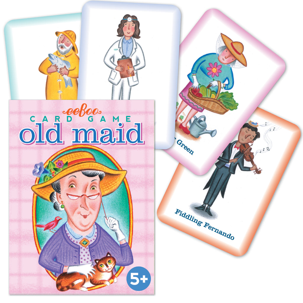 Eeboo - Old Maid Card Game