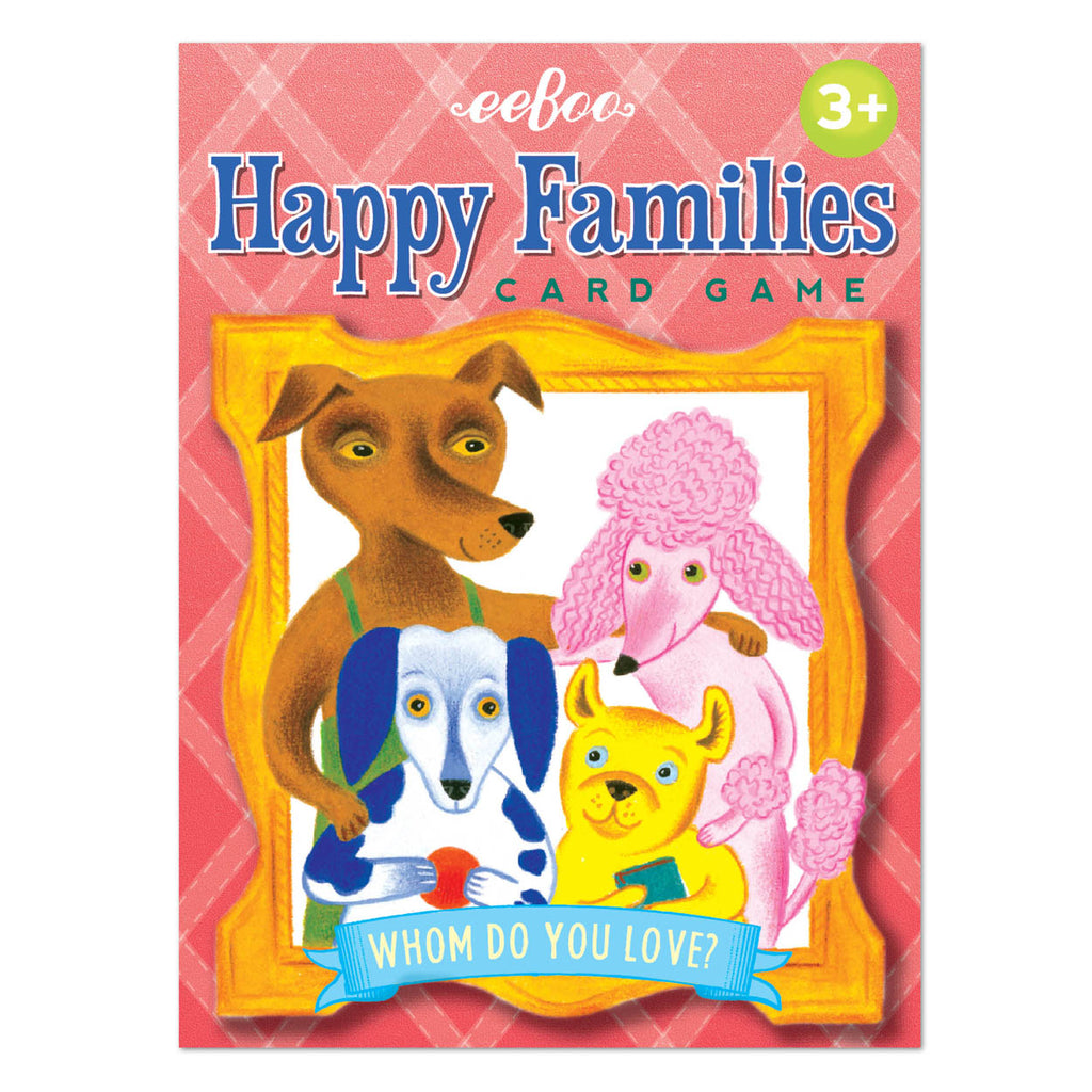 Eeboo - Happy Families Card Game