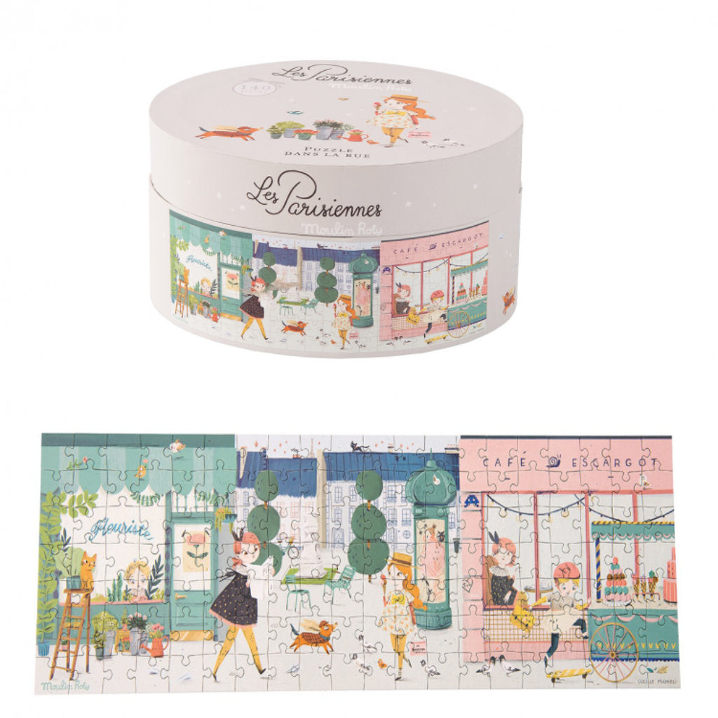 Les Parisiennes 140 pcs Puzzle by Moulin Roty