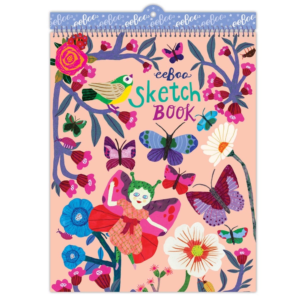 Eeboo - Butterfly & Flower Sketchbook