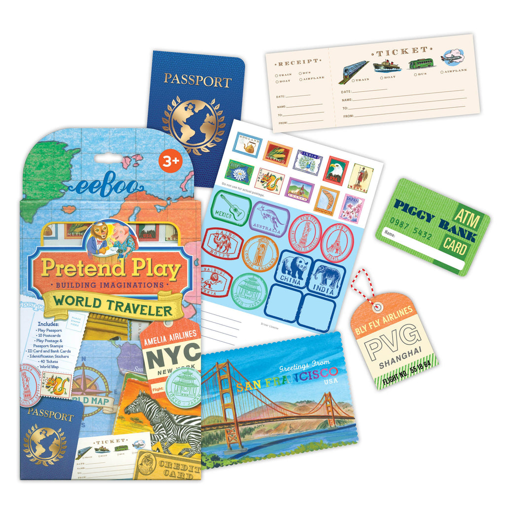 Pretend Play - Let's Go World Traveller