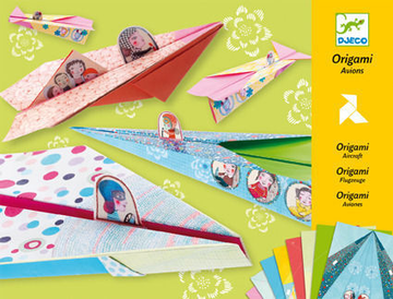Origami Planes Pink