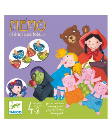 Djeco Once Upon a Time Memory Game