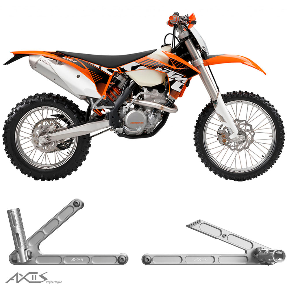 Passenger Pegs KTM EXC, SX and XC (2012-2016) - AXIIS EA