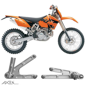 Passenger Pegs KTM EXC, SX and XC (2004-2007) - AXIIS EA