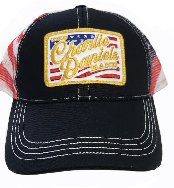 NEW! CDB Patch Flag Mesh Hat