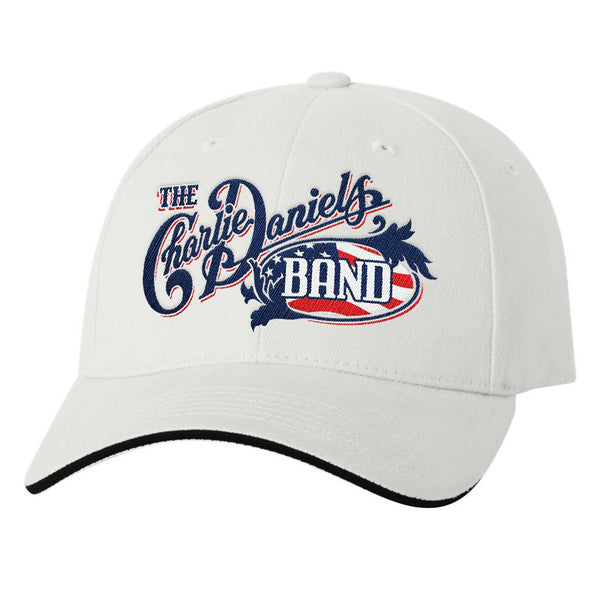 NEW! White CDB 2020 Patriotic Hat