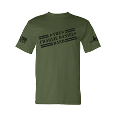 NEW! 2020 Olive Drab CDB Military Tee - Benefits The Journey Home Project