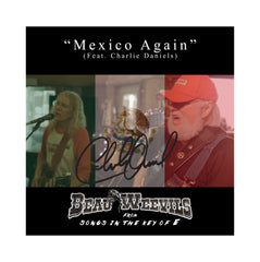 NEW! Autographed Beau Weevils - Mexico Again CD Single