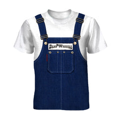 NEW! - Beau Weevils Overalls Tee