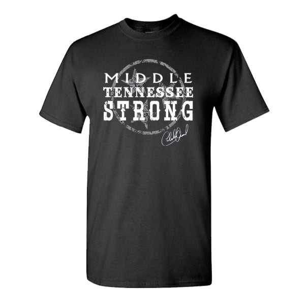 NEW! Middle Tennessee Strong Black Tee