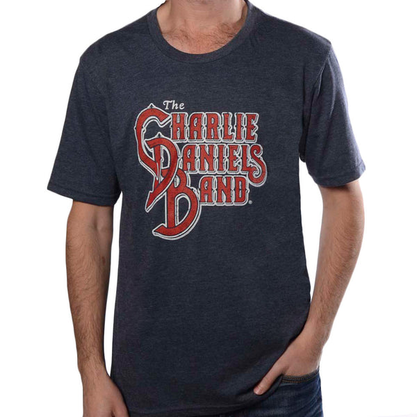 CDB Logo Tee - Heather Navy