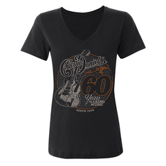 NEW! Women's CD 60 Years of Making Music V-Neck Tee