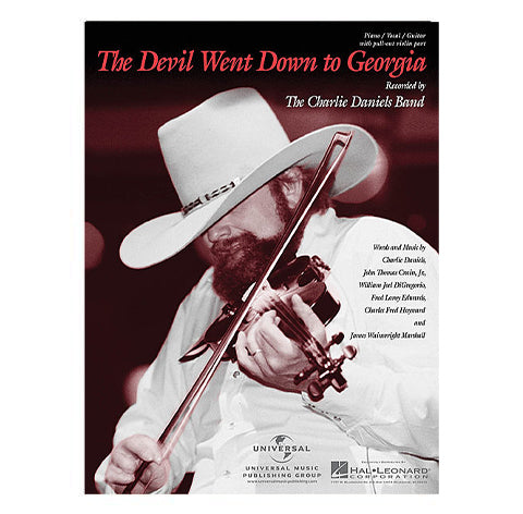 """The Devil Went Down To Georgia"" Sheet Music"