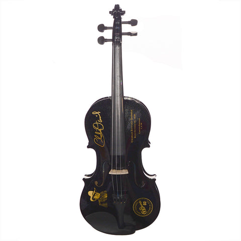 Charlie Daniels 80th Birthday Limited Edition Autographed/Numbered Black Fiddle