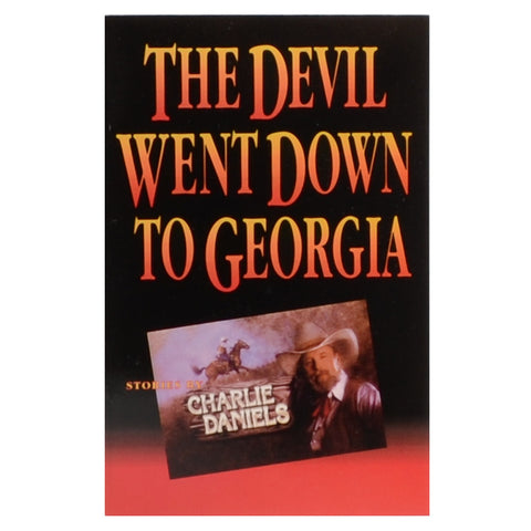 "Autographed ""The Devil Went Down To Georgia"" Paperback Book"