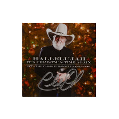 Autographed Hallelujah It's Christmas Time Again CD