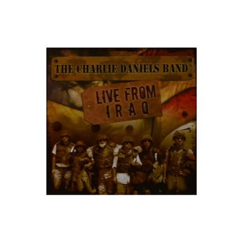 The Charlie Daniels Band Live From Iraq CD