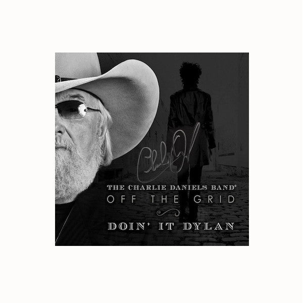 Autographed Off The Grid-Doin' It Dylan CD