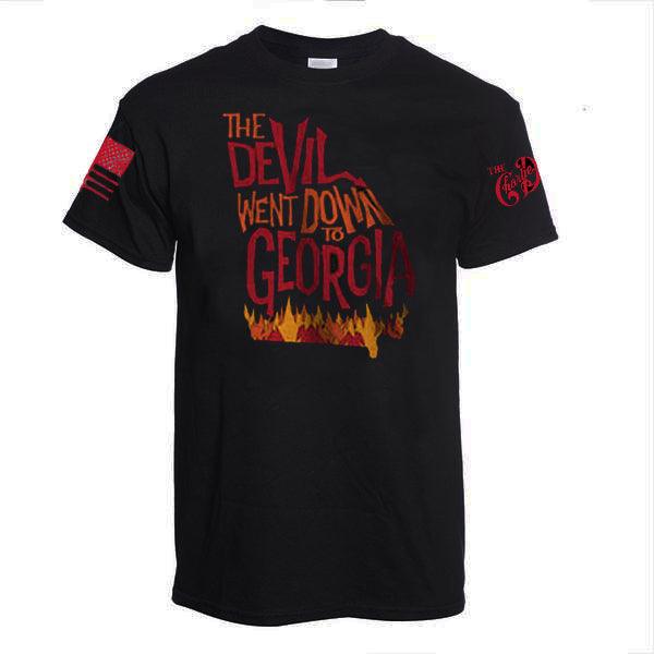 "9 Line ""The Devil Went Down to Georgia"" Short Sleeve Tee"