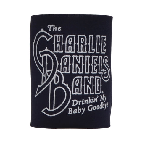 CDB Navy Drinkin' My Baby Goodbye Koozie