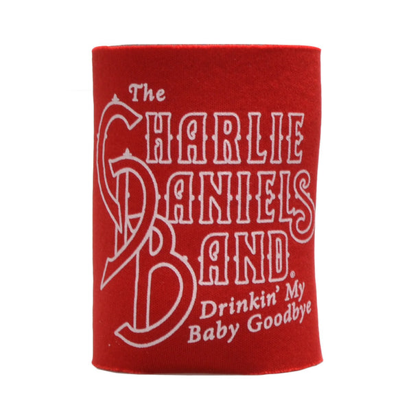 CDB Red Drinkin' My Baby Goodbye Koozie