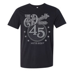 CDB 45th Anniversary Black & White Tee