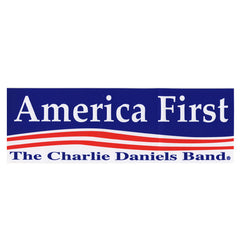 CDB America First Sticker