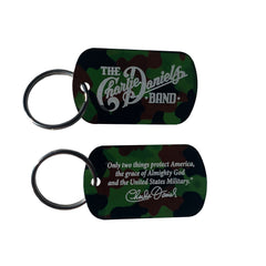 NEW! - CDB Camo Dogtag Keychain - Benefits The Journey Home Project