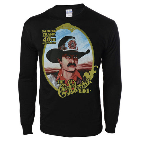 Saddle Tramp 40th Anniversary Long Sleeve Tee