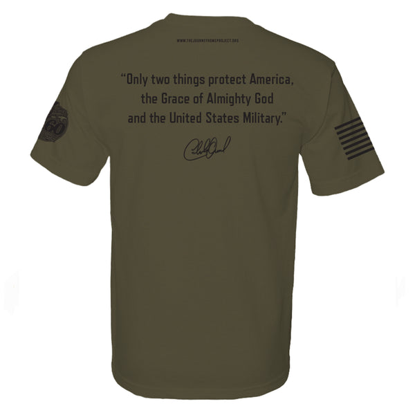 CDB Military Tee - Benefits The Journey Home Project